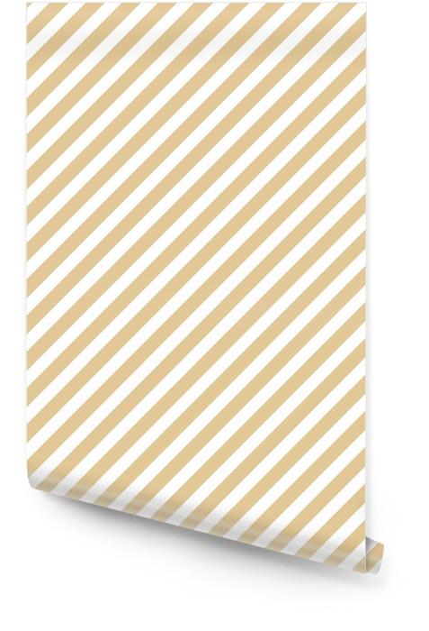 Streep beige naadloze patroon Behangrol - Grafische Bronnen