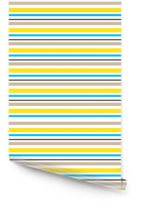 Striped abstract background with color stripes. Vector illustration. Wallpaper roll - Graphic Resources