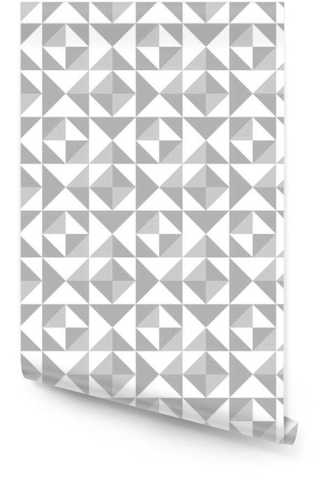 Abstrakcyjny wzór bez szwu z trójkątów Tapeta w rolce - Zasoby graficzne