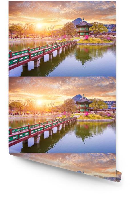 Gyeongbokgung Palace In Spring South Korea Wallpaper Roll