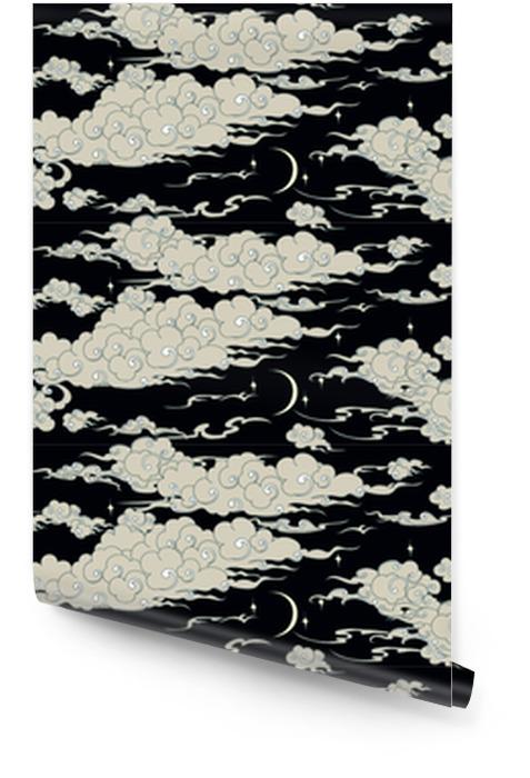 Sømløs sky mønster Rulletapet - Grafiske Ressurser