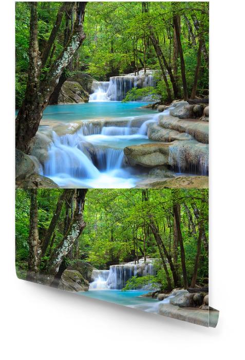 Erawan wodospad, Kanchanaburi, Tajlandia Tapeta w rolce - Wodospady