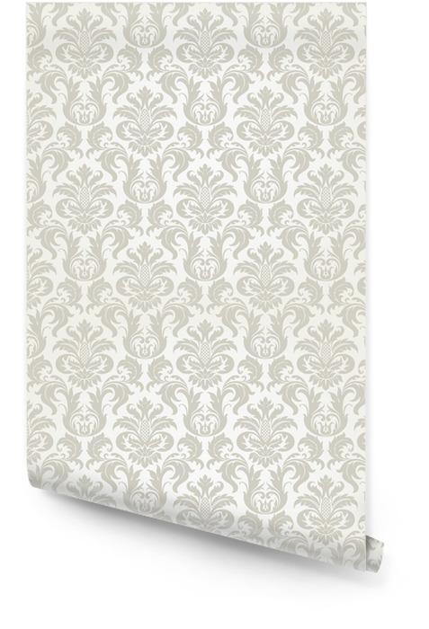 Vector inconsútil del modelo del damasco floral Rollo de papel pintado - Temas