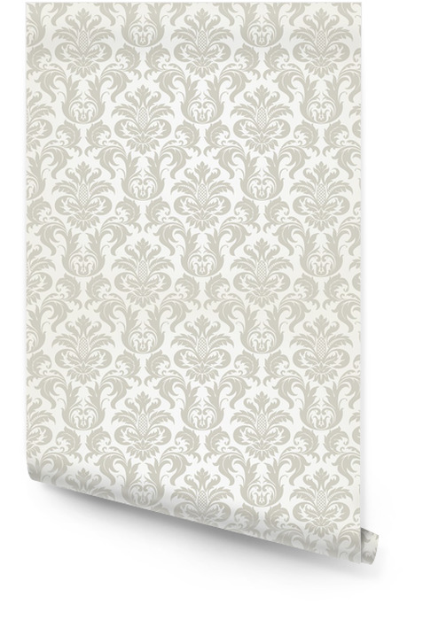 Vector seamless floral damask pattern Wallpaper Roll - Themes