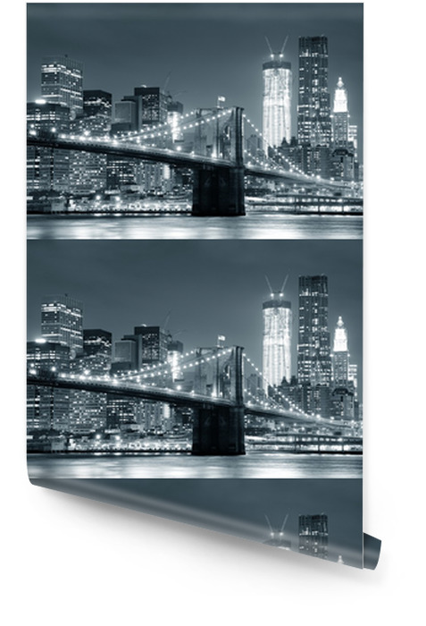 New York City Brooklyn Bridge Tapeta w rolce -