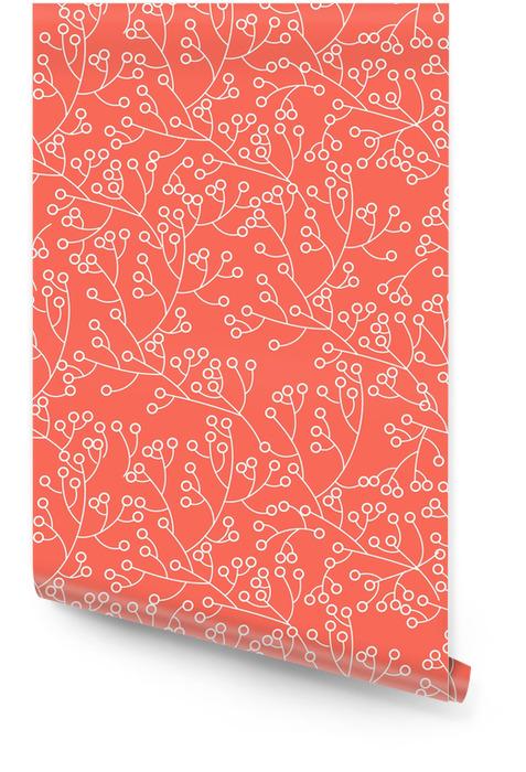 Texture florale Rouleau de papier peint - Arrière plans