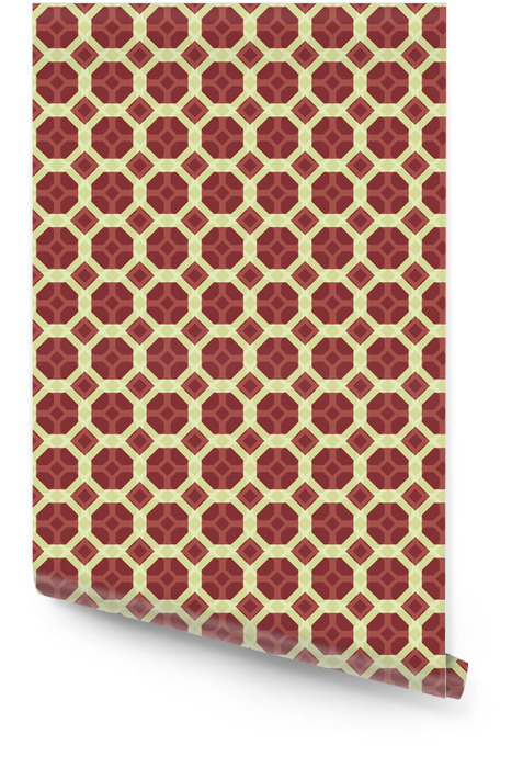 Geometrisk sømløs dekorativt mønster Rulletapet - Mote