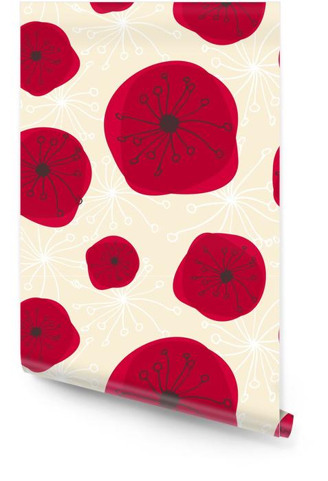 Seamless Floral Pattern Wallpaper roll - Flowers