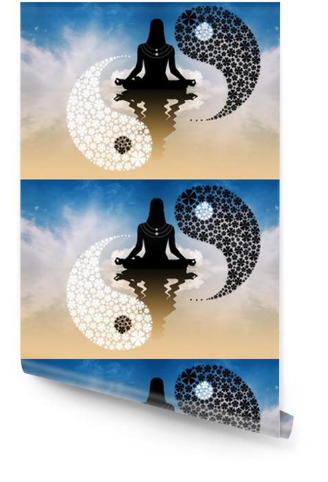 Rouleau De Papier Peint Symbole Tao Pixers Nous Vivons Pour Changer
