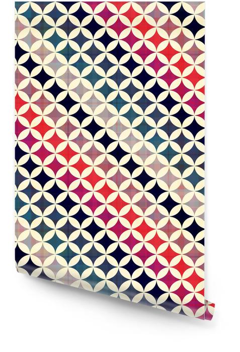 Tekstury powtarzalne tle koła Tapeta w rolce - Style