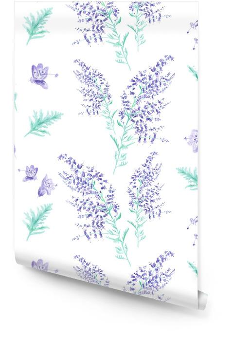 Motif d'aquarelle transparente Rouleau de papier peint - Styles