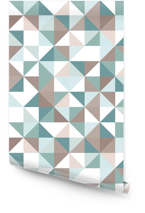 Driehoek naadloze patroon Behangrol - Thema's