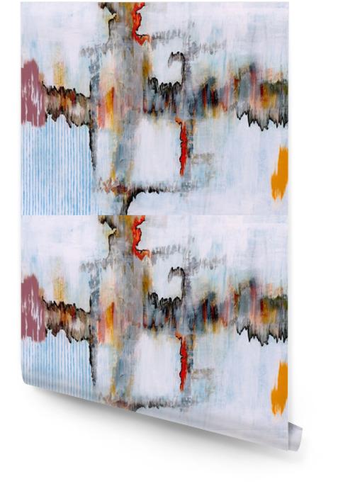 Rouleau De Papier Peint Une Peinture Abstraite Pixers Nous Vivons Pour Changer