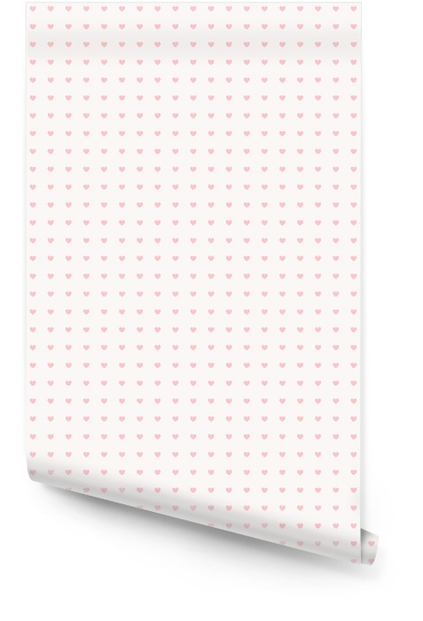 seamless pattern with hearts Wallpaper roll - States of Mind