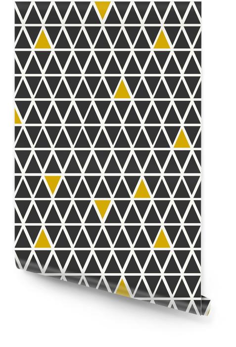 Abstrakcyjne geometryczne powtarzalne wzór Tapeta w rolce - Tła