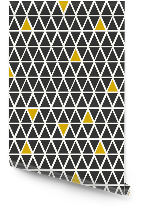 Abstract Geometric Seamless Pattern Wallpaper roll - Backgrounds