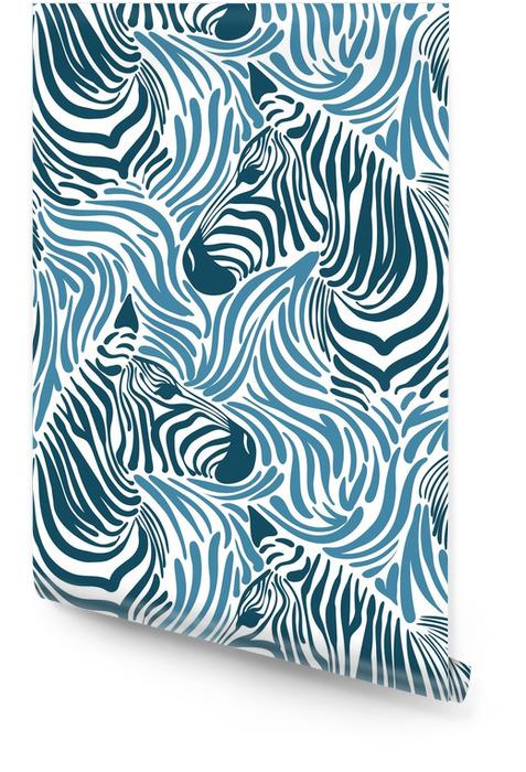 Print zebra Behangrol - Dieren