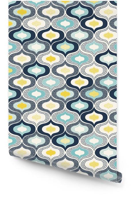 Sans soudure points ornement abstraites pattern__ doodle Rouleau de papier peint - Ressources graphiques