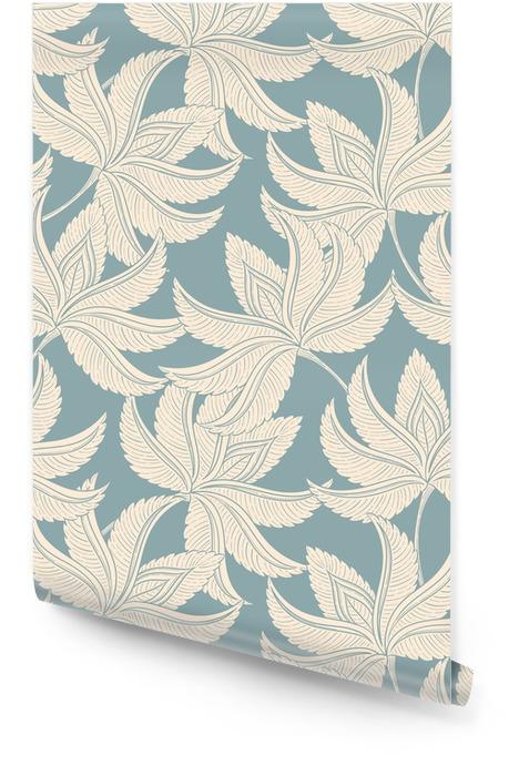Vintage delikatny wzór Tapeta w rolce - Rośliny i kwiaty