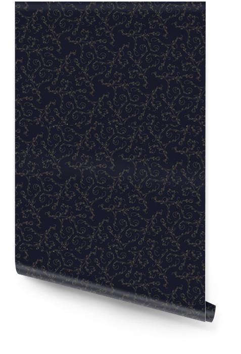 Motif vintage sur un background.Vector illustration sombre. Rouleau de papier peint - Ressources graphiques