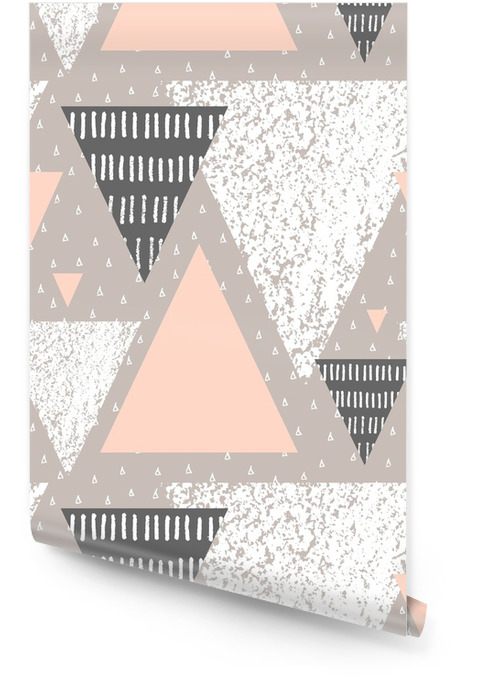 Abstract Geometric Pattern Wallpaper roll - Graphic Resources