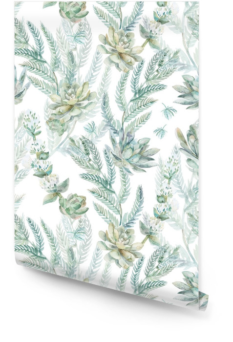 Floral seamless pattern. s Rouleau de papier peint - Plantes et fleurs